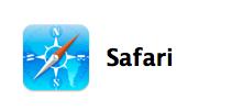 Safariのアイコン