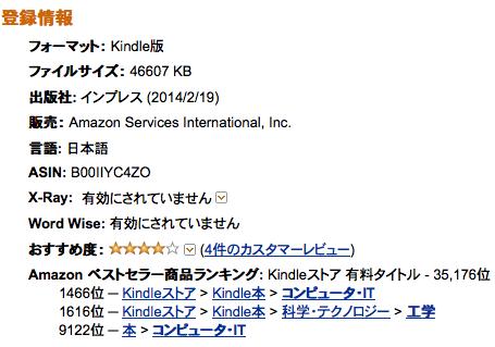 日本のAmazon.co.jpには、米国Amazon.comのメタデータにあったText-to-Speech欄がない