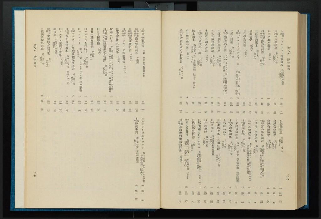 点字図書の書誌が掲載されたページその2